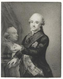 Portret van Friedrich August III van Saksen (1750-1827)