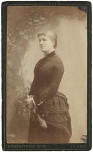 Portret van Cornelie Loudon (1858-1928)