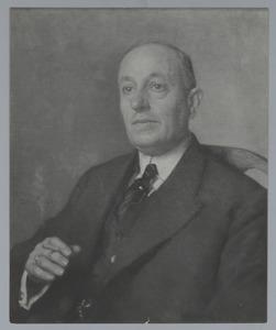 Portret van Ph. Mees