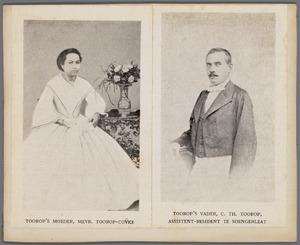 Ouders van Jan Toorop bij hun huwelijk