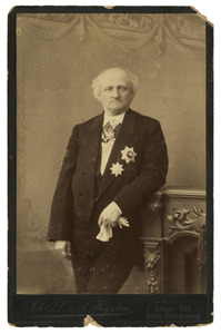 Portret van Philippus Alexander Haas (1823-1891)