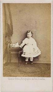 Portret van Ida van der Oudermeulen (1861-1864)