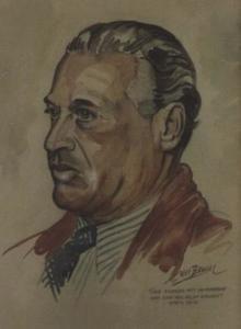Portret van Theo Frenkel jr. (1893-1955)