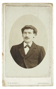 Portret van Klaas Vellema