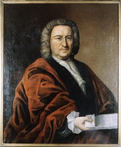 Portret van Abraham van der Linden (1684-1767)