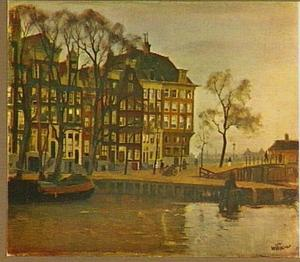 Kalkmarkt te Amsterdam