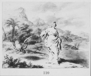 Ascalaphus in een uil veranderd (Metamorphosen 5:530-550)