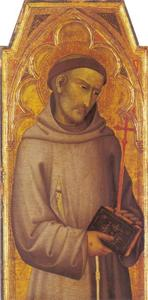 De heilige Fransiscus