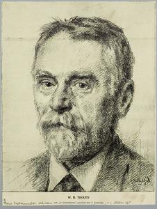 Portret van W.B. Tholen
