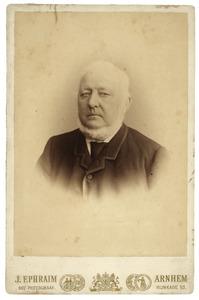 Portret van Otto van Dedem (1818-1894)