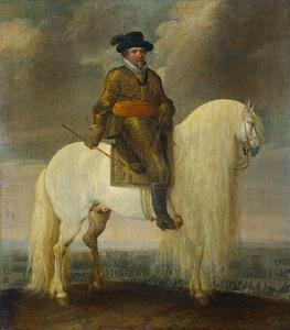 Portret van Maurits van Oranje- Nassau (1567-1625)