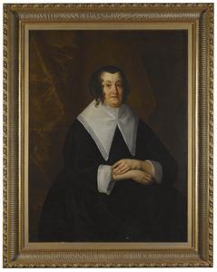Portret van Julia Fasey, Lady Crew, tweede echtgenote van Sir Randolph Crew
