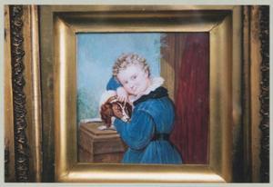 Portret van Willem van der Does (1839-1881)