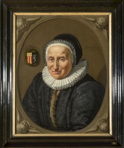Portret van een vrouw, mogelijk uit de familie Bronckhorst