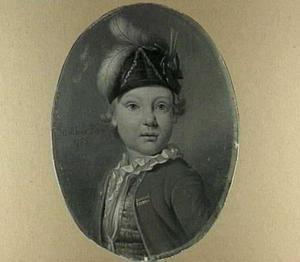 Portret van de zoon van de schilder