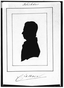 Portret van Cornelis Pieter 't Hoen (1814-1880)