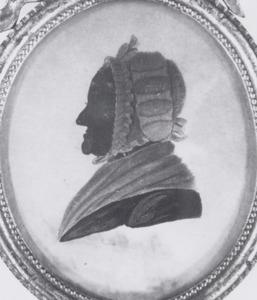 Portret van Anna Wolff (1722-1808)