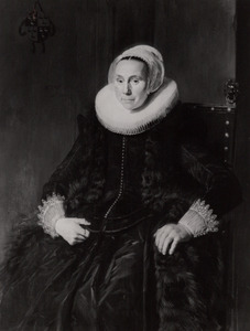 Portret van Cornelia Claesdr. Vooght