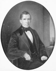 Portret van Samuel Francois Anne van Pallandt (1808-1880)