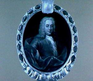Portret van Walter Senserff (1685-1752)