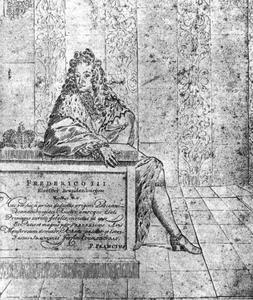 Portret van Friedrich III keurvorst van Btandenburg, later koning Friedrich I van Pruisen (1657-1713)