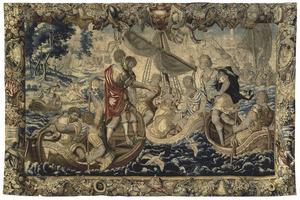 Hereniging van Pompeius en Cornelia