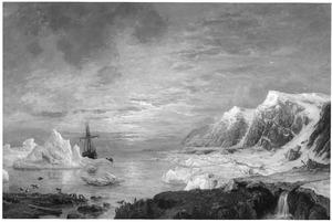 De schoener 'Willem Barents' op expeditie in de Noordelijke IJszee