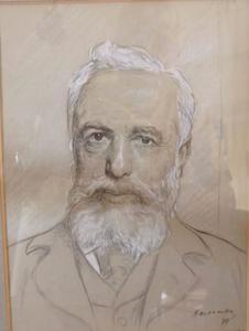 Portret van de heer Van L[oon]
