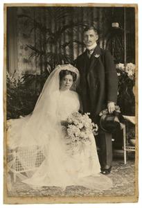 Portret van Hermann Paul Adolf von Halem (1886-1914) en Anna Adèle van Rappard (1883-1968)