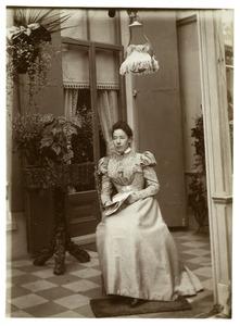 Portret van Elselina Anna de Bye (1864-1945)