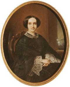 Portret van Suzanna Jacoba Vrolik (1832-1874)