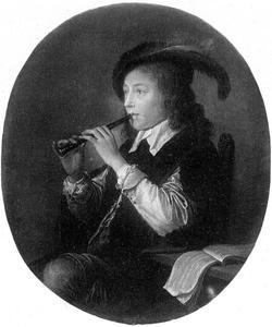 Een fluitspeler