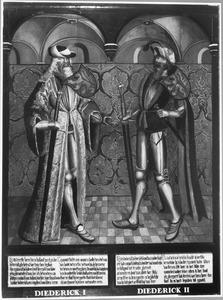 Haarlemse gravenportretten: Dirk I en Dirk II