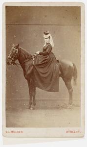 Portret van Margaretha Constantia Veeren (1848-1917)