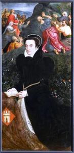 Portret van Eleonora Lopez de Villanueva
