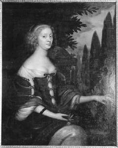 Portret van Marie Sophie de la Gardie