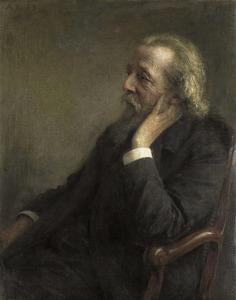 Portret van Ds. P.H. Hugenholtz II (1834-1911), oprichter van de Vrije Gemeente