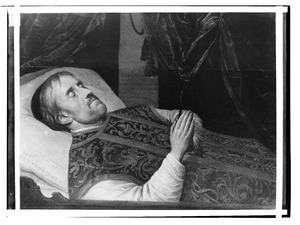 Doodsbedportret van Franciscus van der Meersch (1608-1661)