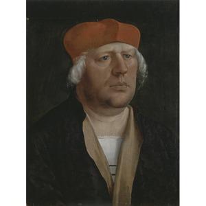 Portret van een kanunnik, mogelijk Johann Rieper van Brixen