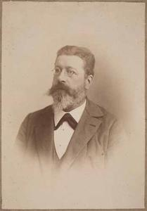 Portret van Arnoldus Adriaan Lamme (1837-1903)