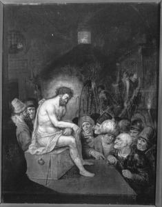 De Bespotting van Christus (Matteüs 27:35)