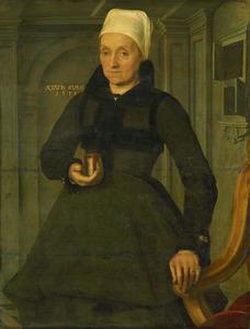 Portret van Lijsbeth Hendriksdr.