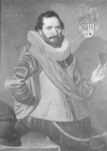Portret van Hendrick Both