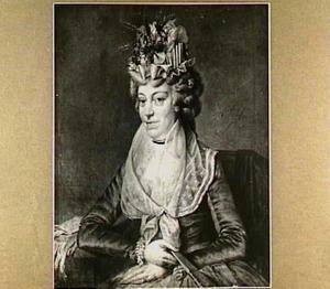 Portret van Johanna Cornelia Diepenbrugge, echtgenote van  C.A. van Sypesteyn