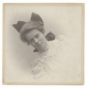 Portret van Maria Wüstenhoff (1891/1892-...)