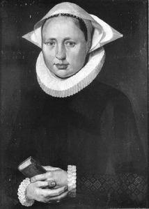Portret van de zuster van Wilhelmus van Emmen