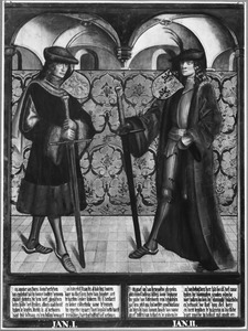 Haarlemse gravenportretten: Jan I en Jan II