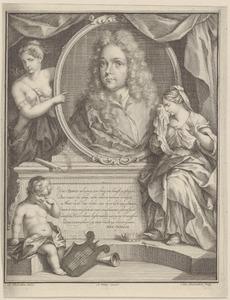 Portret van Jacob Zeeus (1686-1718)