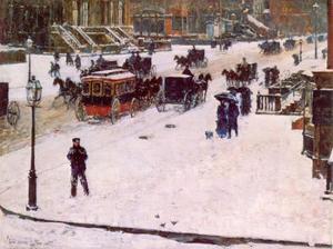 Fifth Avenue in de winter