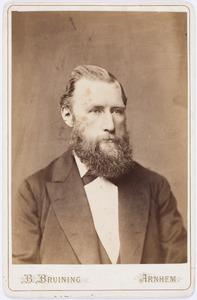 Portret van Jan Isaac Valckenier (1835-1881)